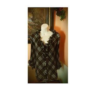 Women's ruffle blouse